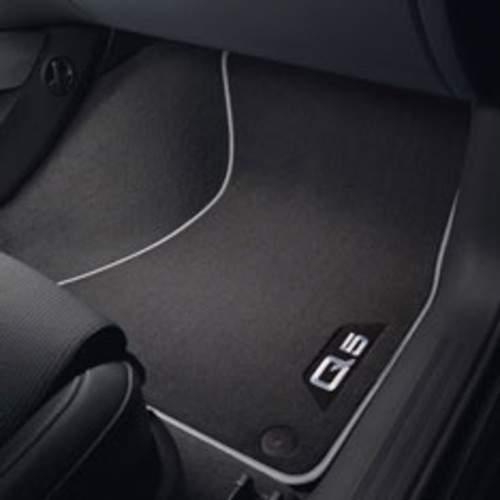 Floor Mat-Carpeted Floor Mats Rear AUDI OEM 8R0061276MNO