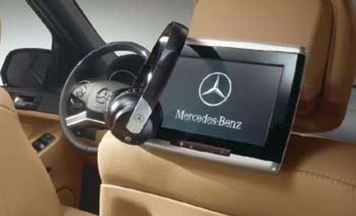 Dvd player rear seat entertainment system mercedes benz for Mercedes benz rear seat entertainment system