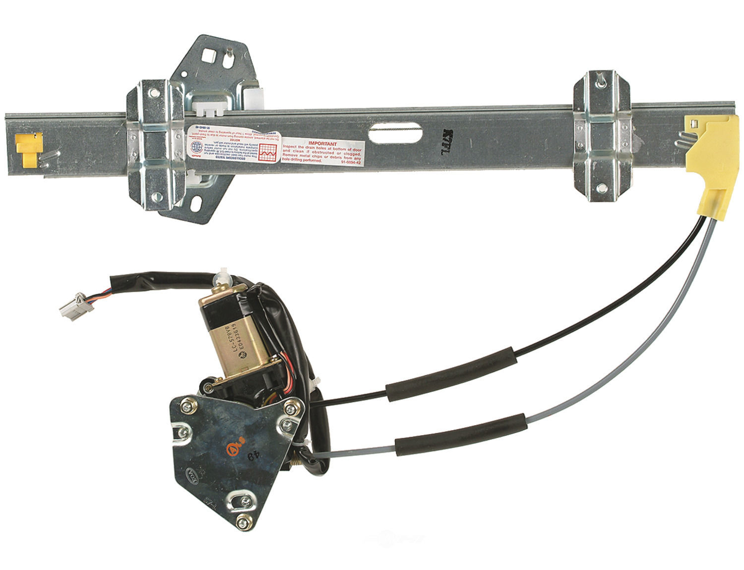 Power window motor and regulator assembly front left fits for 1990 honda accord window motor