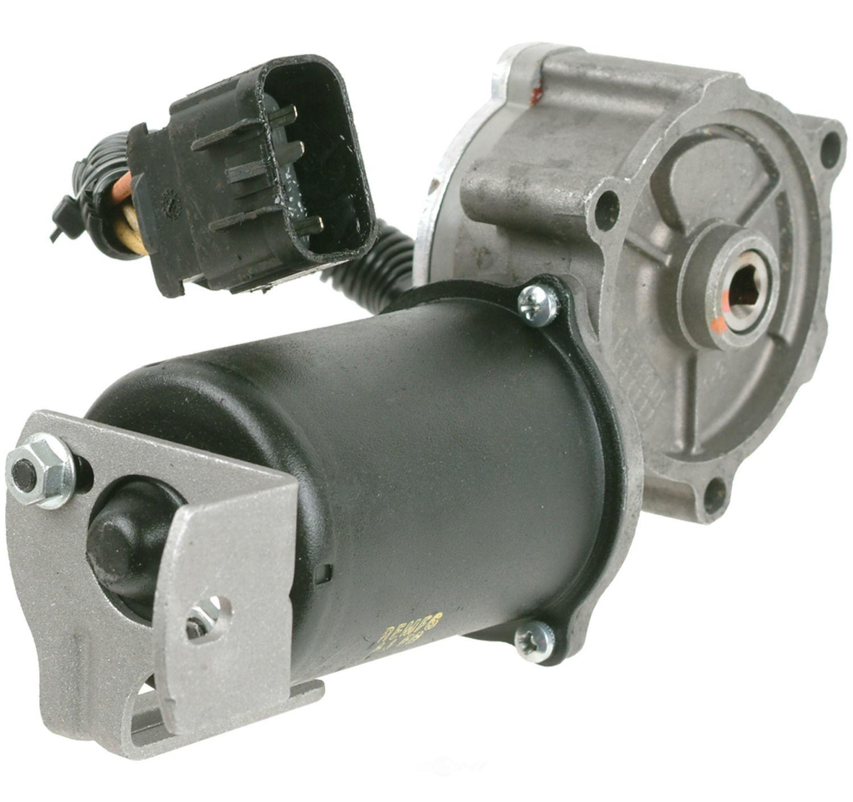 2009 Hummer H3 Transmission: Reman Transfer Case Motor Fits 2003-2009 Hummer H2 CARDONE