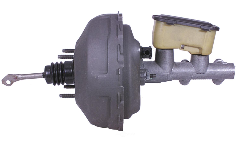 power brake booster vacuum w master cylinder reman fits 90. Black Bedroom Furniture Sets. Home Design Ideas