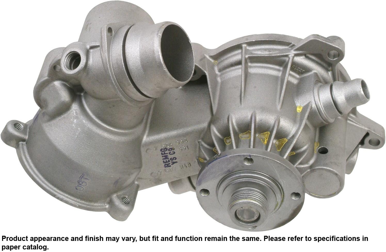 Engine Water PumpWater Pump Cardone 571688 Reman fits 0406 BMW