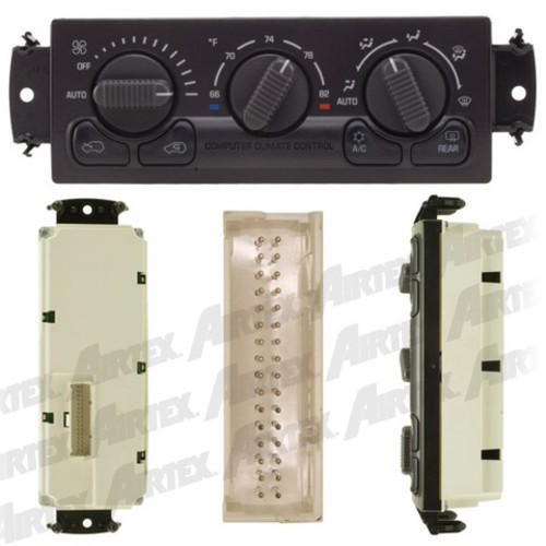 a c and heater control switch fits 2000 2002 gmc sierra. Black Bedroom Furniture Sets. Home Design Ideas