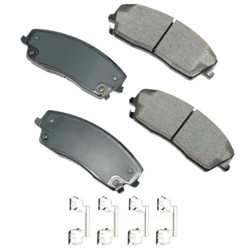 Disc Brake Pad Proact Ultra Premium Ceramic Pads Front