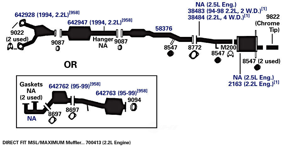34 Subaru Legacy Exhaust System Diagram