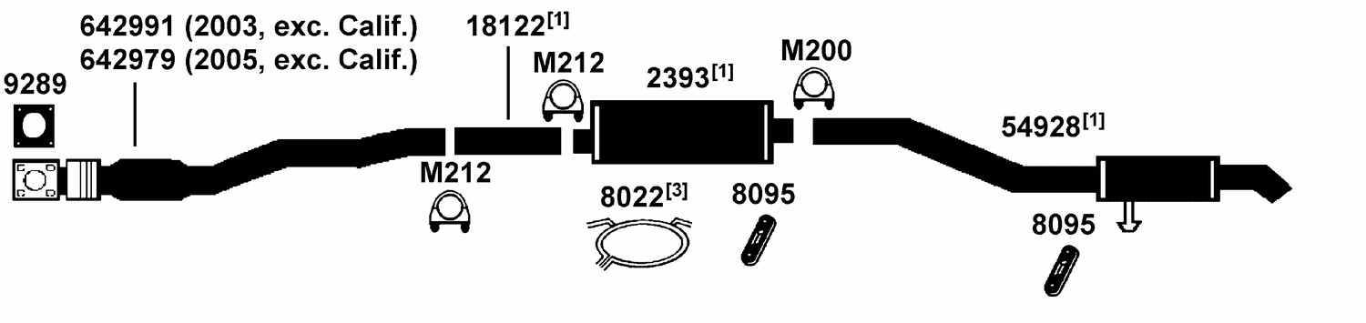 100668 dodge grand caravan exhaust diagram from best value auto parts dodge caravan exhaust system diagram at soozxer.org