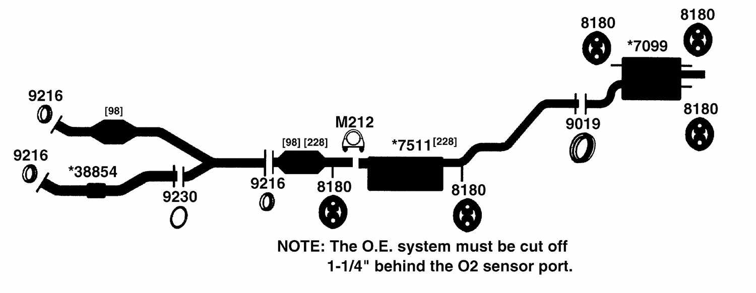 2000 LEXUS RX300 Exhaust Diagram ...