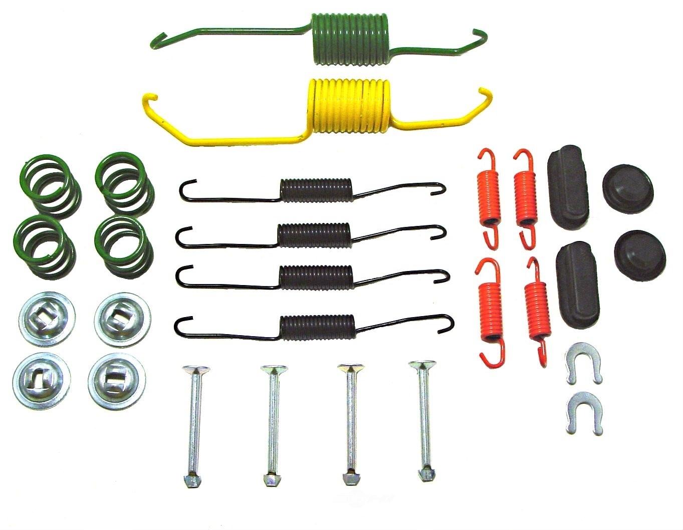 drum brake hardware kit rear better brake 17387 ebay. Black Bedroom Furniture Sets. Home Design Ideas