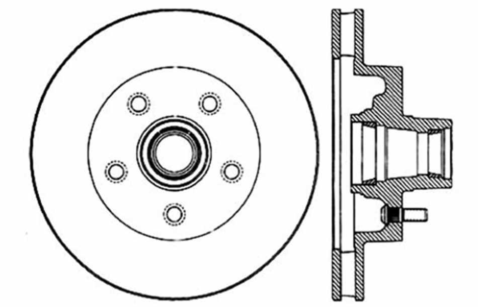 disc brake rotor fits 1971 c1500 suburban c15  c1500 suburban