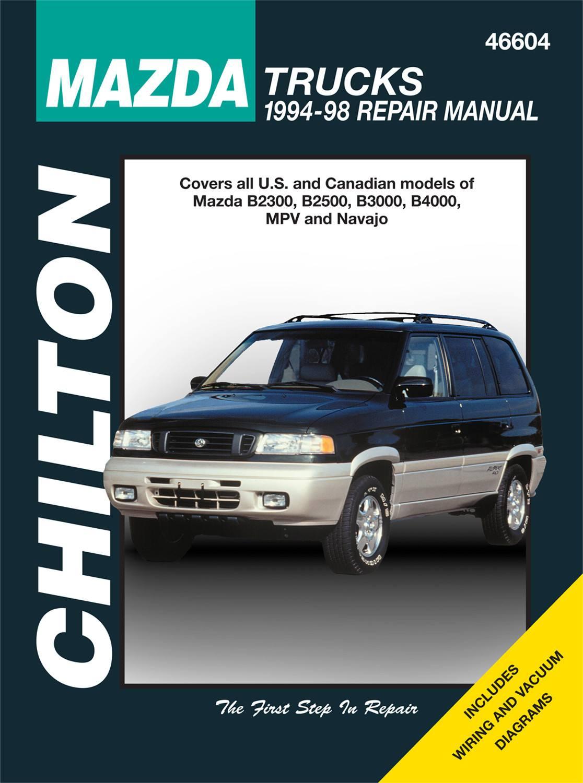Chilton 46604 Repair Manual Mazda B2000   B2500  B3000