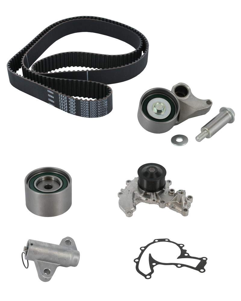 Engine timing belt kit with water pump crp fits isuzu
