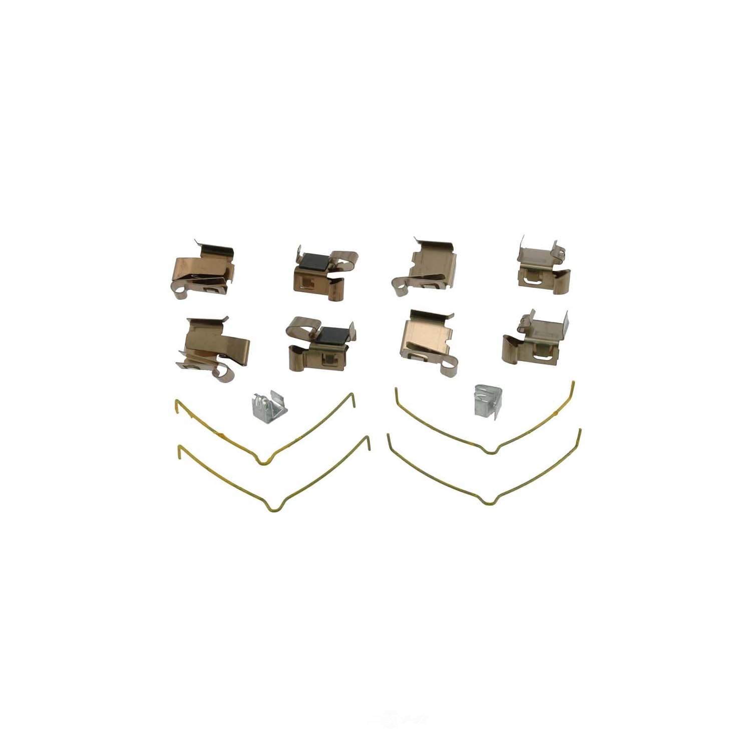 toyota camry front brake hardware kit from best value auto