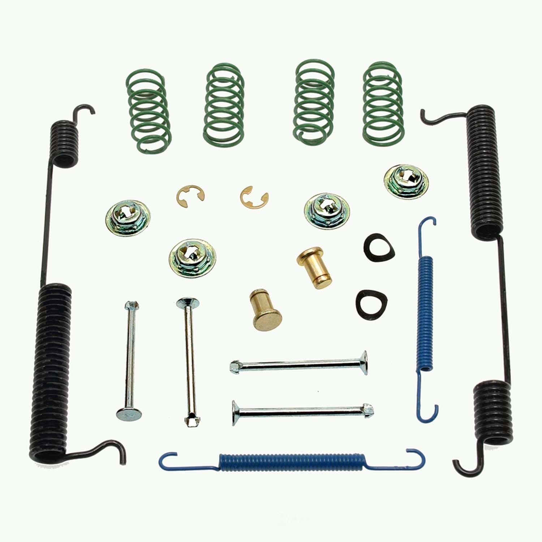 drum brake hardware kit rear carlson h7276 ebay. Black Bedroom Furniture Sets. Home Design Ideas
