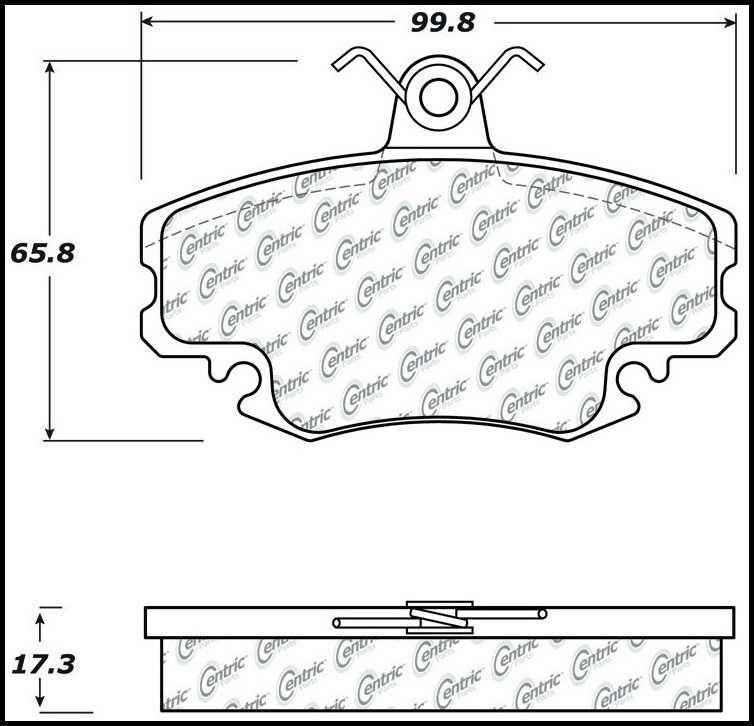 Foto de Pastillas de Freno C-TEK Metallic Pads para Nissan Z 2009 Marca C-TEK Número de Parte 102.11460