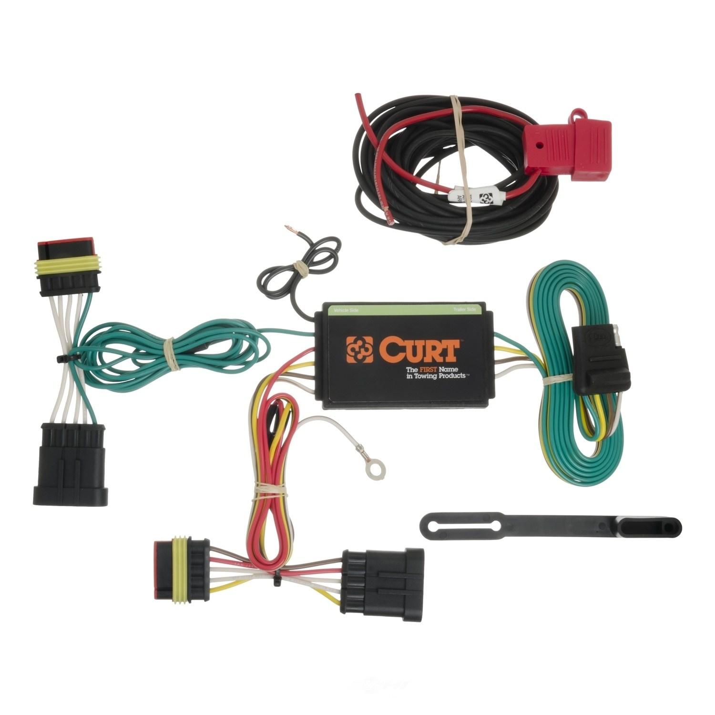 Foto de Kit de Conectores de Remolque Custom Wiring Harness para Fiat 500 2012 Marca CURT MFG INC. Número de Parte 56174