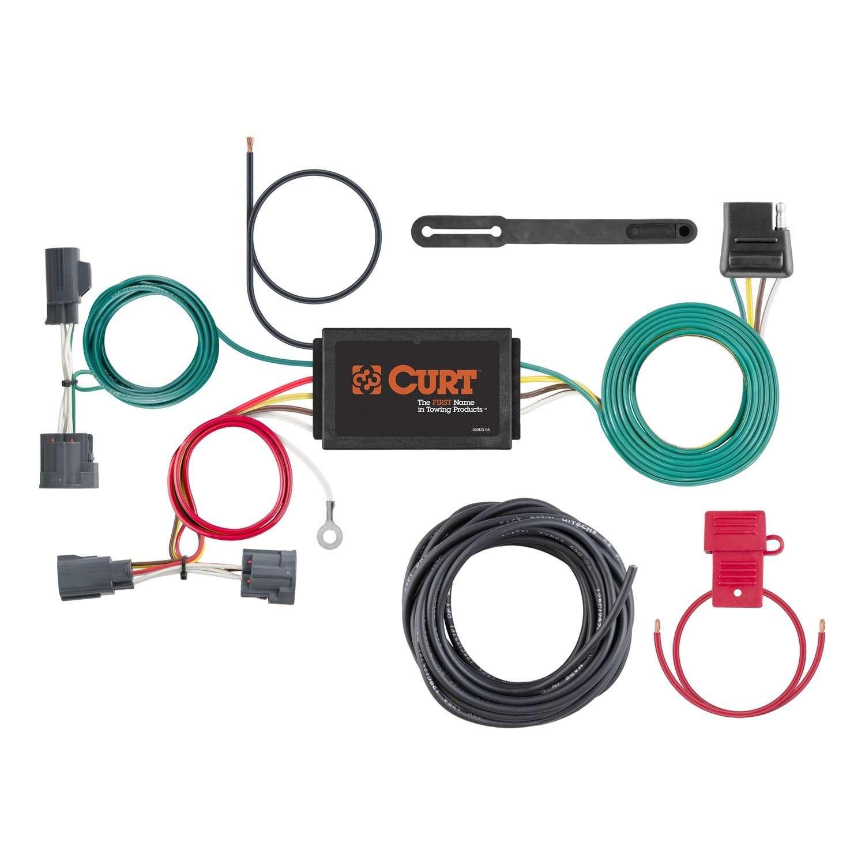 Kit De Conectores Remolque Custom Wiring Harness Para Dodge Nitro Jeep Liberty Marca Curt Mfg Inc Nmero Parte 56183