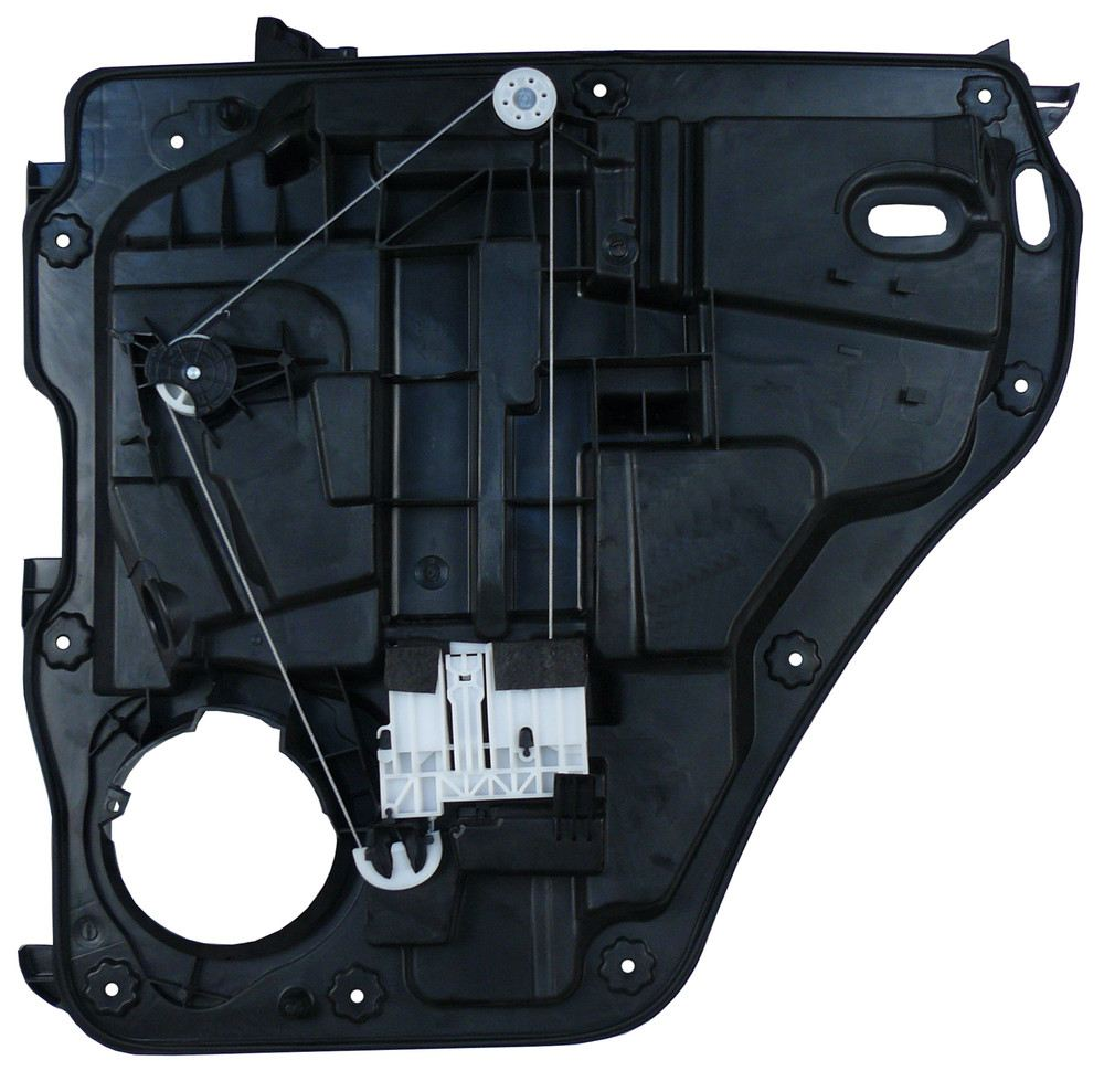 power window motor and regulator assembly rear left fits