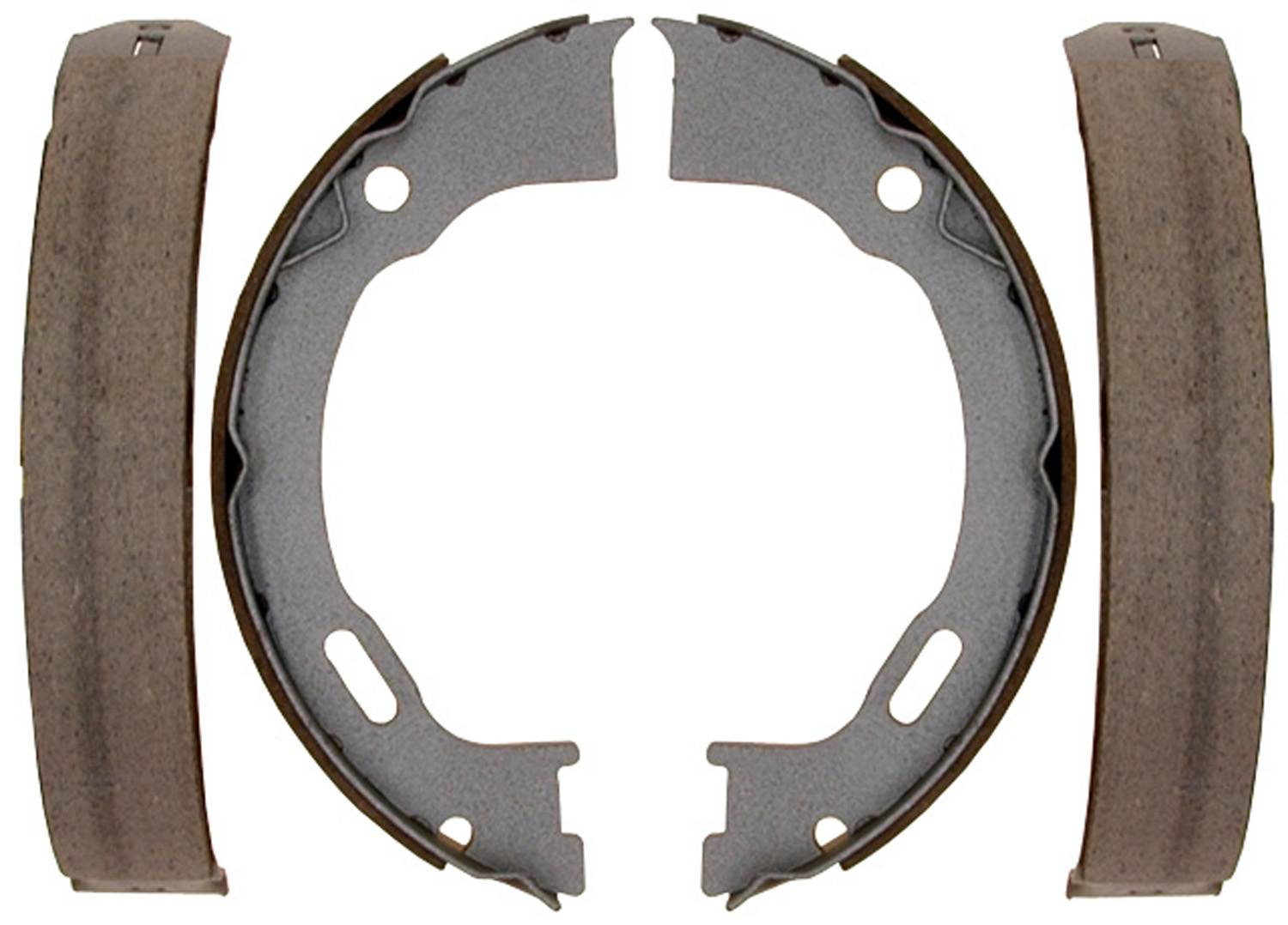 Brake Shoe Thickness In 32nds : Parking brake shoe bonded rear acdelco advantage b
