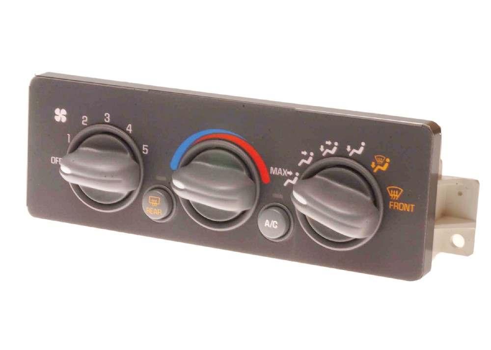 hvac control panel fits 97 00 pontiac grand prix 3 8l v6. Black Bedroom Furniture Sets. Home Design Ideas