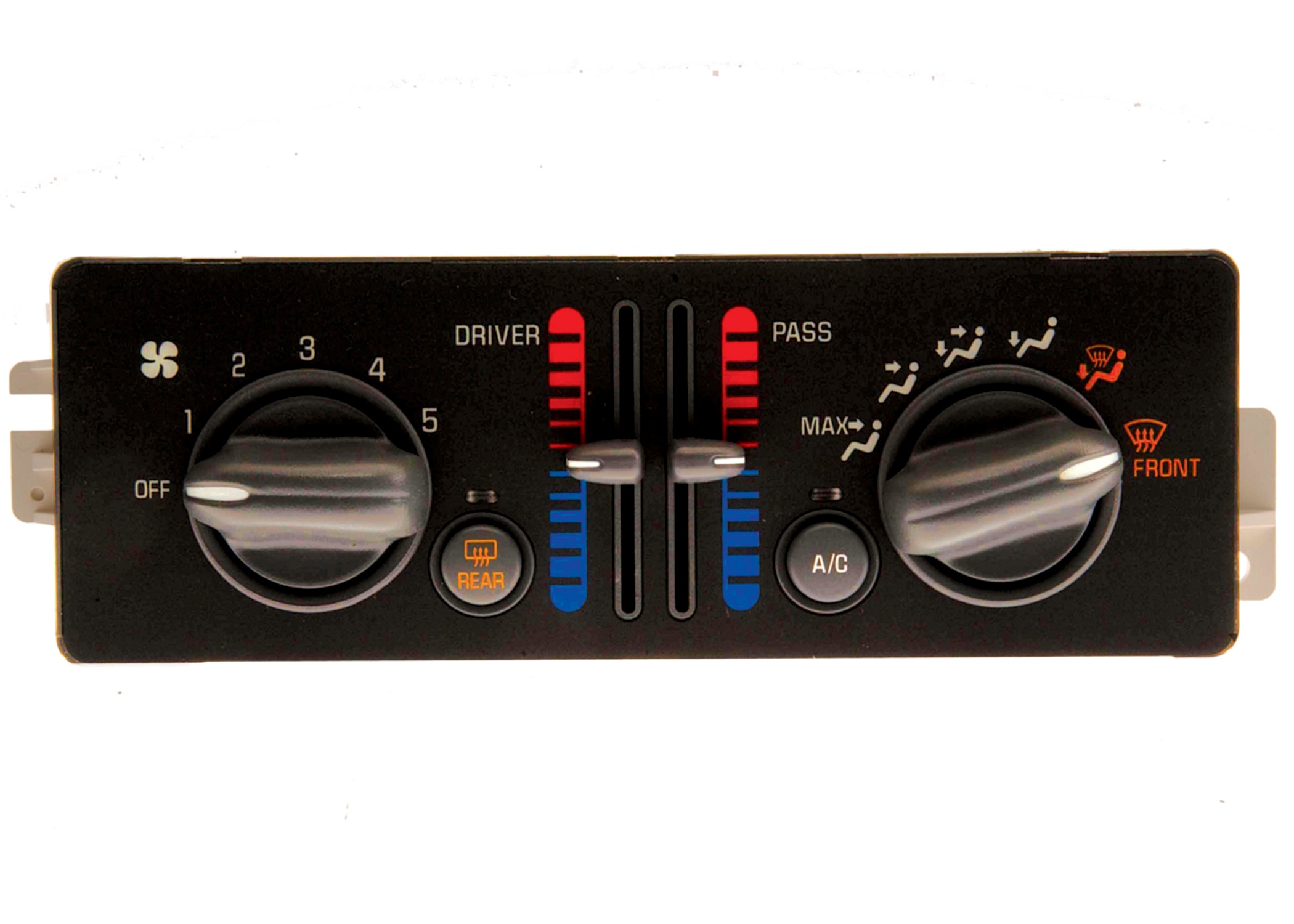 hvac control panel fits 01 03 pontiac grand prix 3 8l v6. Black Bedroom Furniture Sets. Home Design Ideas