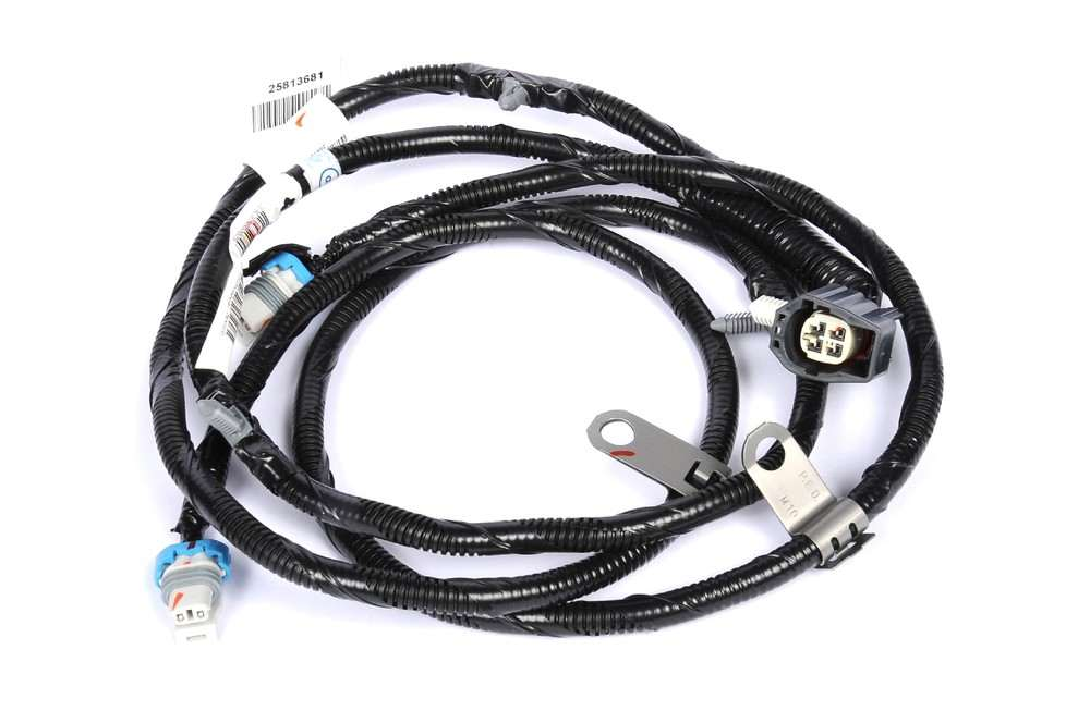 abs wheel speed sensor wire harness fits 08 11 cadillac dts. Black Bedroom Furniture Sets. Home Design Ideas