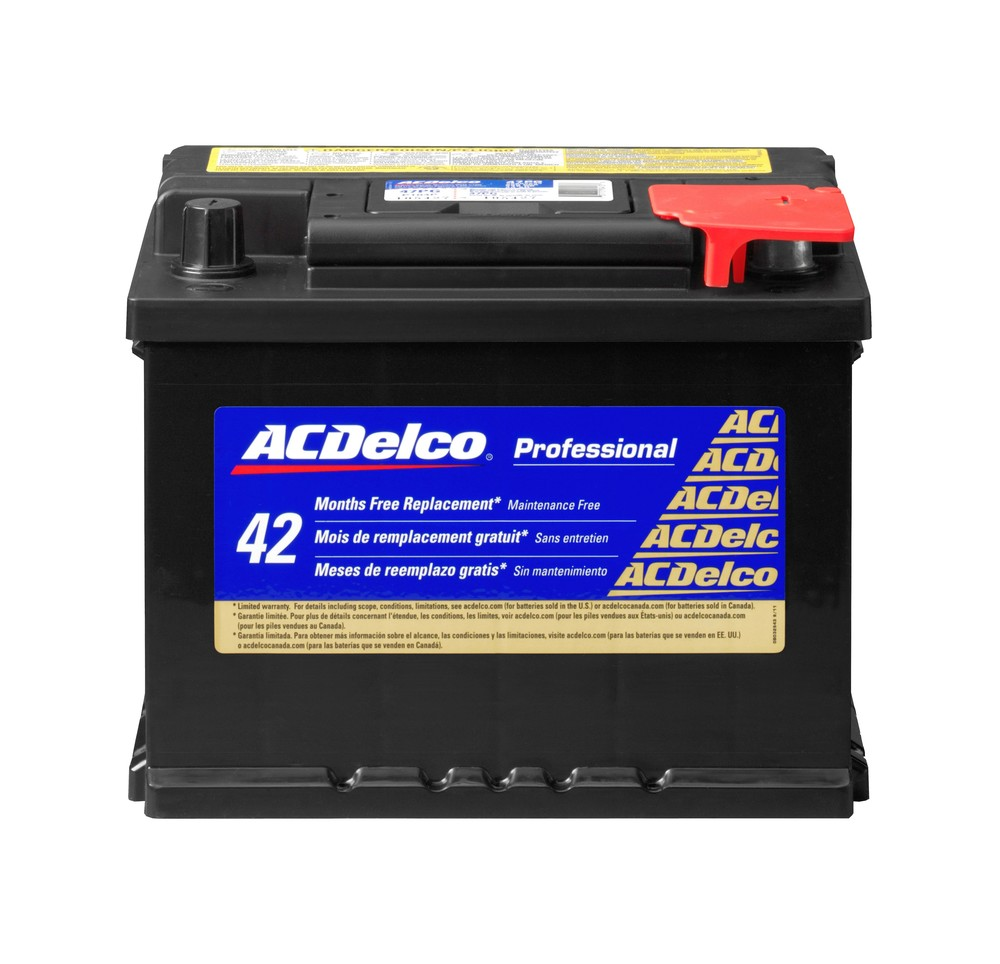 battery gold right acdelco pro 47pg. Black Bedroom Furniture Sets. Home Design Ideas