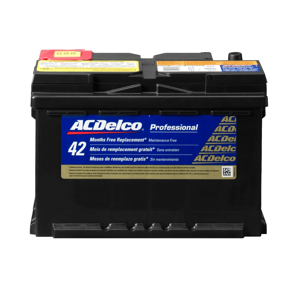 Battery Gold Acdelco Pro 48pg Ebay