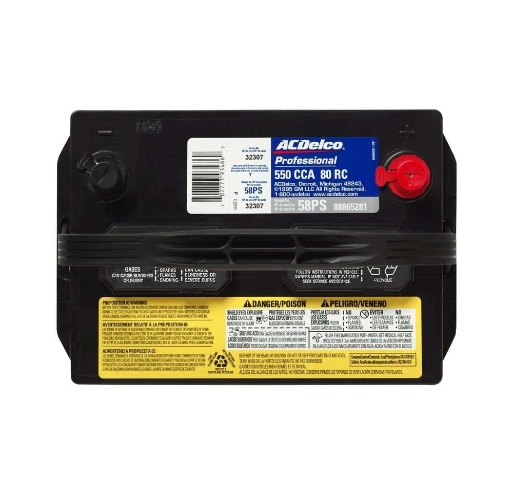 Truck Car Battery Acdelco Professional Silver Autos Post