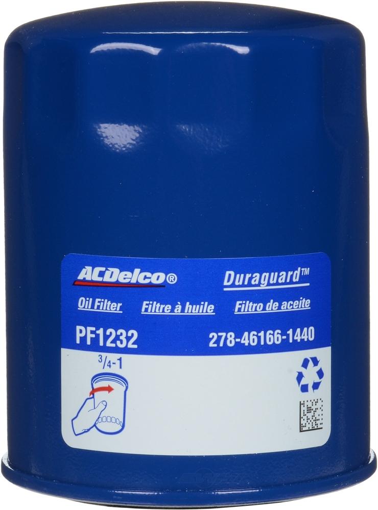 Engine Oil Filter Acdelco Pro Pf1232 Ebay