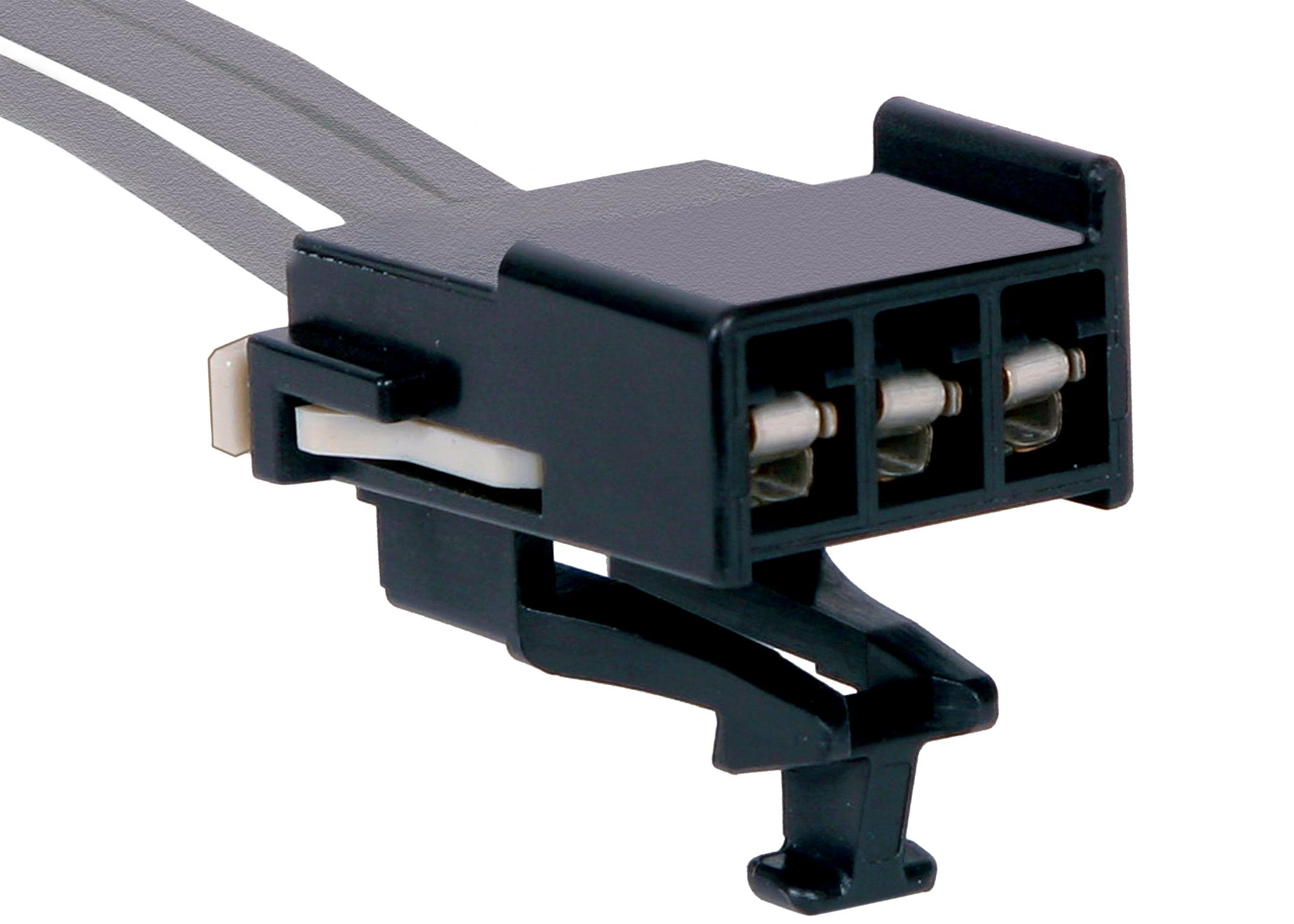 Hvac Blower Motor Control Unit Connector Rear Acdelco Gm