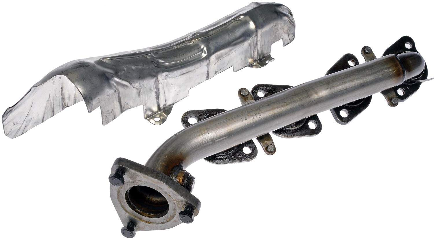 exhaust manifold fits 2000 2004 toyota tundra sequoia. Black Bedroom Furniture Sets. Home Design Ideas