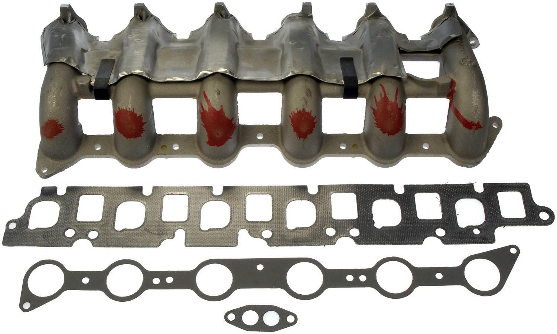 engine intake manifold lower fits 90-95 ford e-350 ... 4 9l engine diagram intake manifold #13