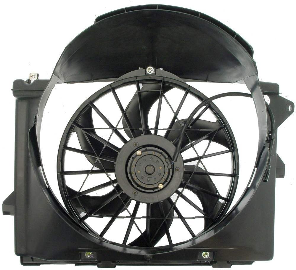 Engine cooling fan assembly fits 1995 1997 mercury grand for Radiator fan motor price