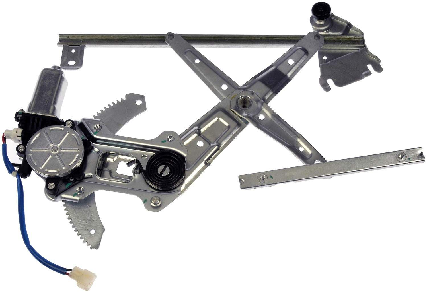 Power Window Motor And Regulator Assembly Front Left Fits
