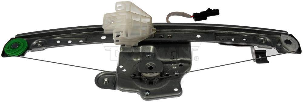 Power window motor and regulator assembly rear right fits for 04 pacifica window regulator