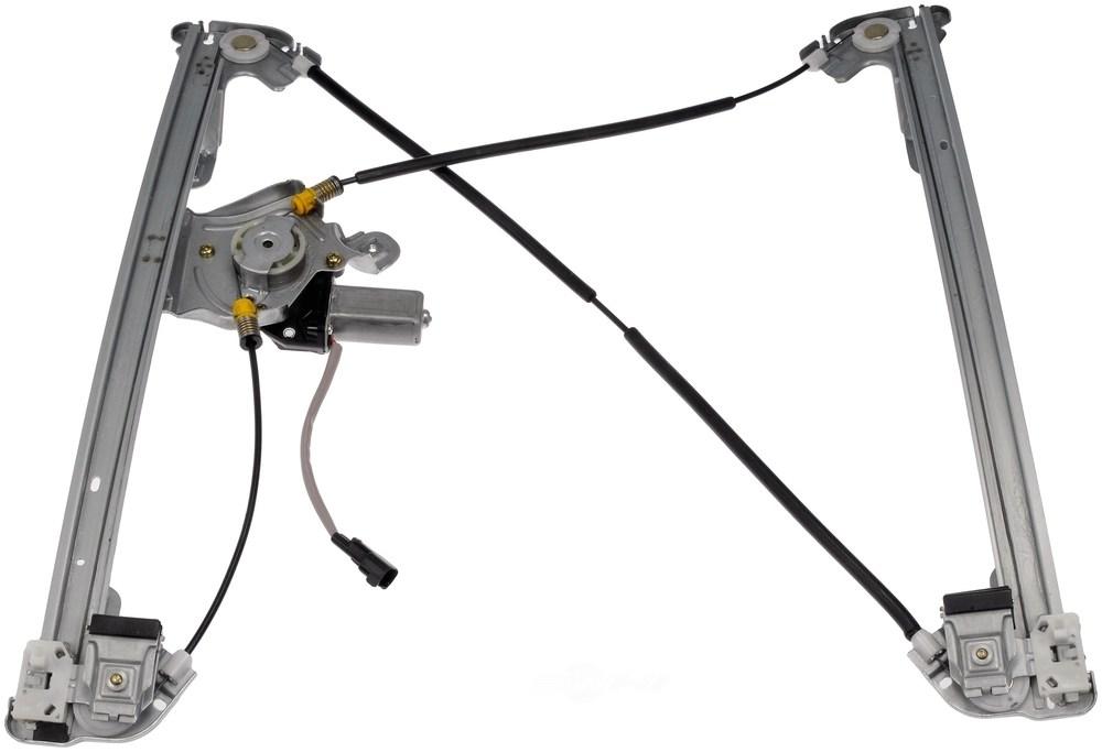 front left power window motor regulator 2004