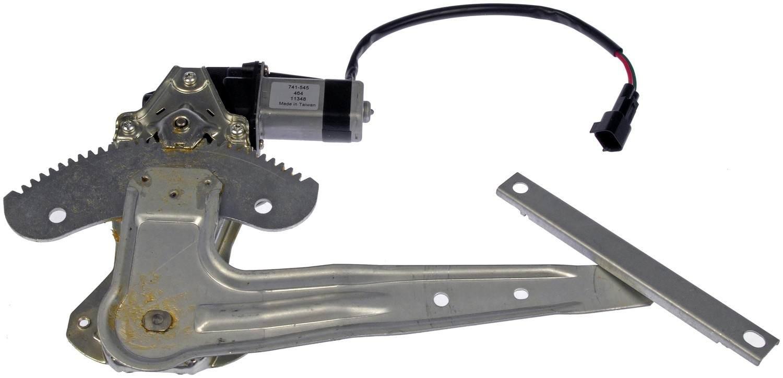 Power window motor regulator assembly fits 2002 2006 for 2002 nissan sentra window motor