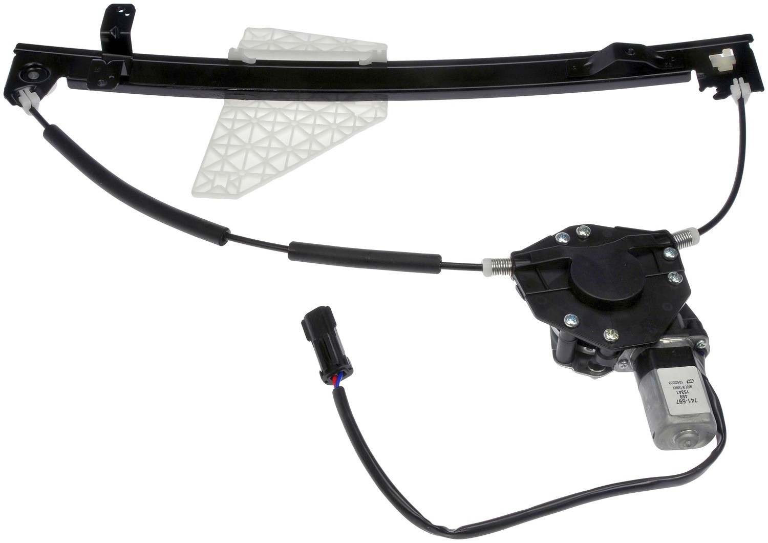 Power window motor and regulator assembly rear right fits for 02 jeep grand cherokee window regulator