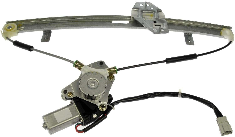 Power window motor and regulator assembly front left fits for Power window motor and regulator