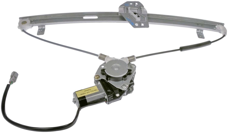 Power window motor and regulator assembly rear left fits for Power window regulator motor