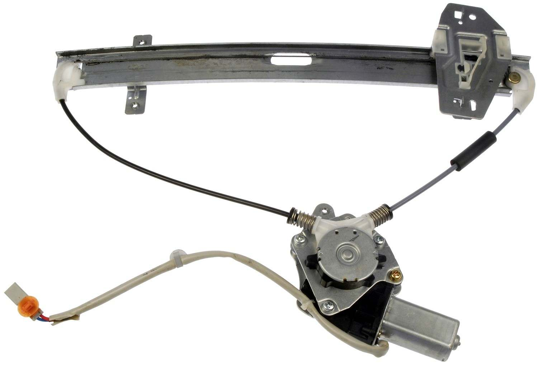 Right rear power window regulator motor fits 2001 2006 for 2001 acura tl window regulator