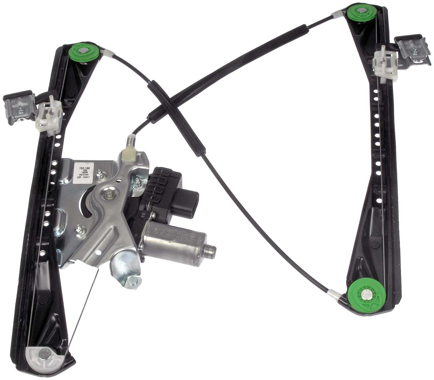 Power window motor and regulator assembly front left fits for 03 lincoln ls window regulator