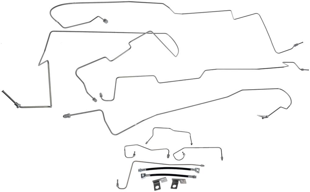 brake hydraulic line dorman 919