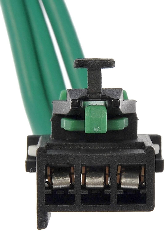 Hvac blower motor resistor connector fits 1999 2001 jeep for Hvac blower motor resistor