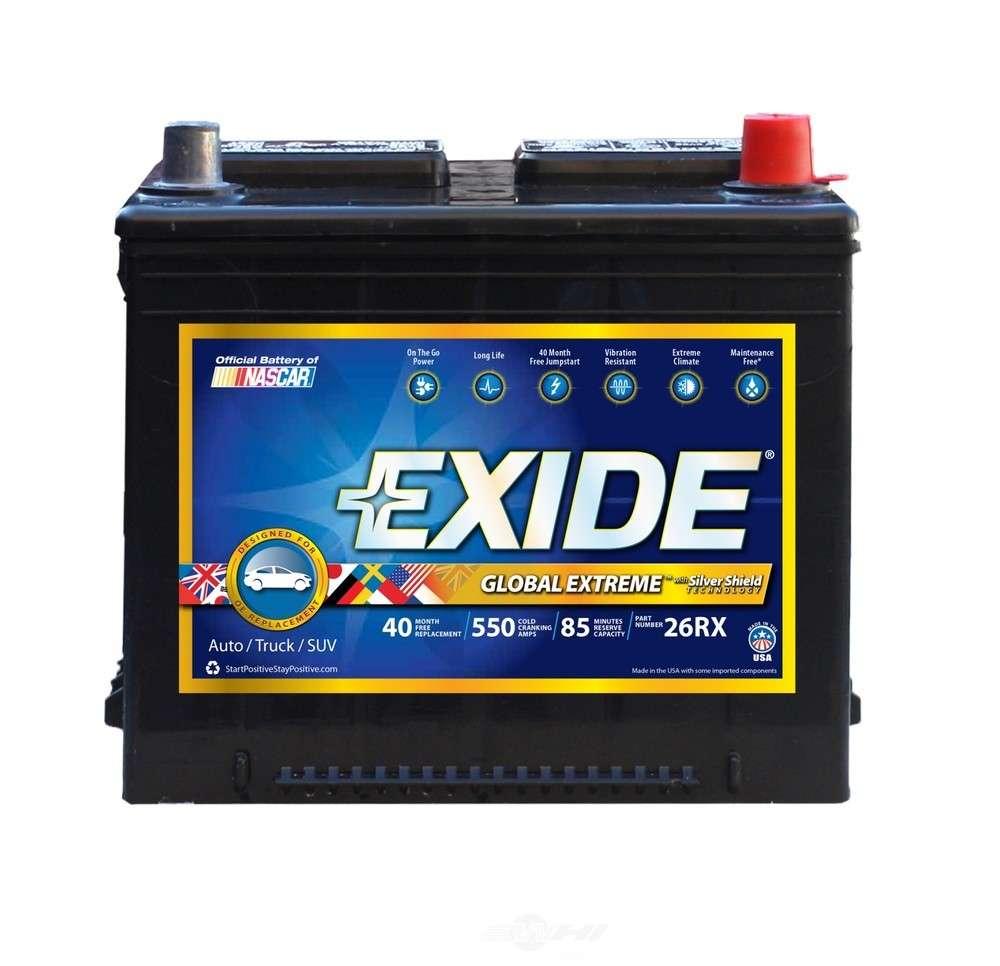 battery exide global extreme cca 550 exide batteries. Black Bedroom Furniture Sets. Home Design Ideas