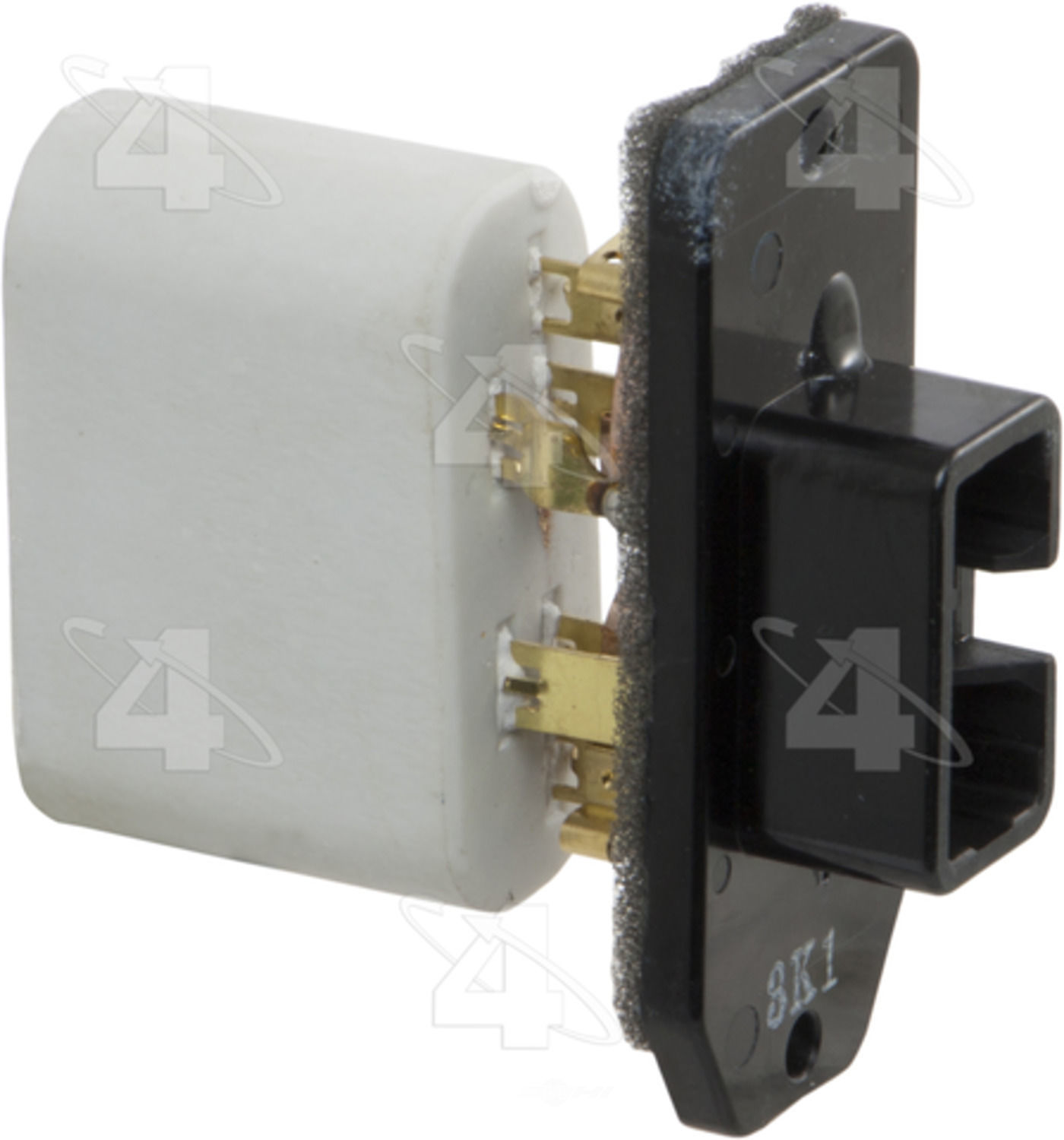 Hvac blower motor resistor resistor block fits 92 96 for Toyota blower motor resistor