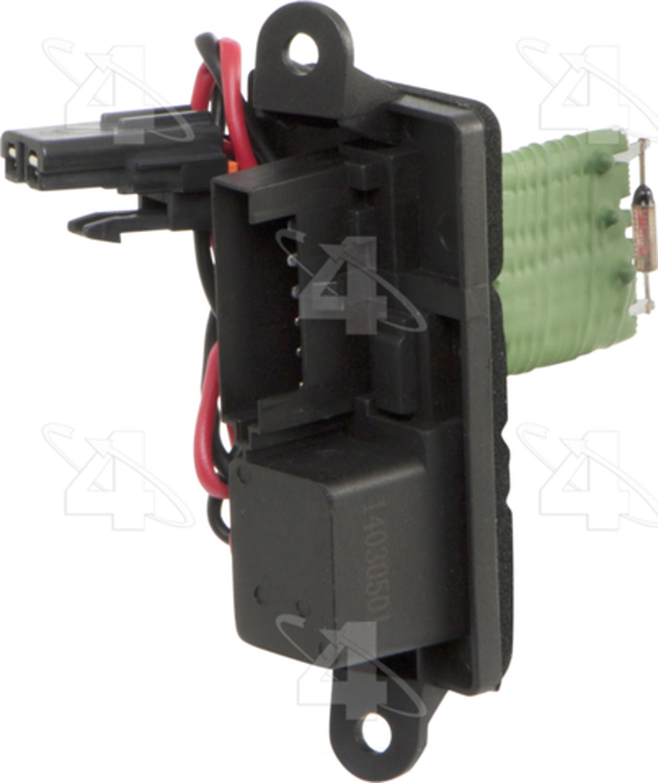 Hvac blower motor resistor resistor block front 4 seasons for Hvac blower motor resistor