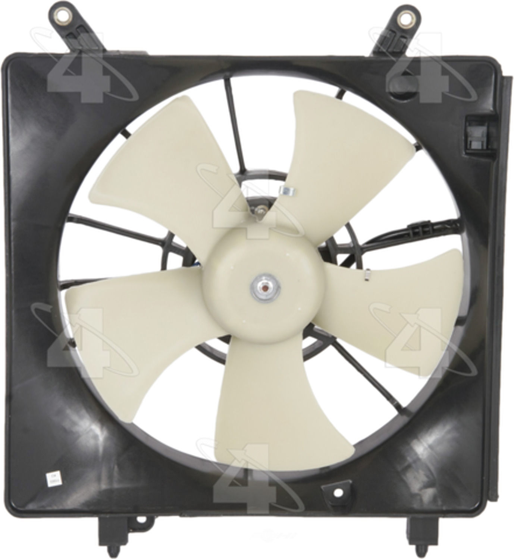 02 Cool Fan : Engine cooling fan assembly radiator fits