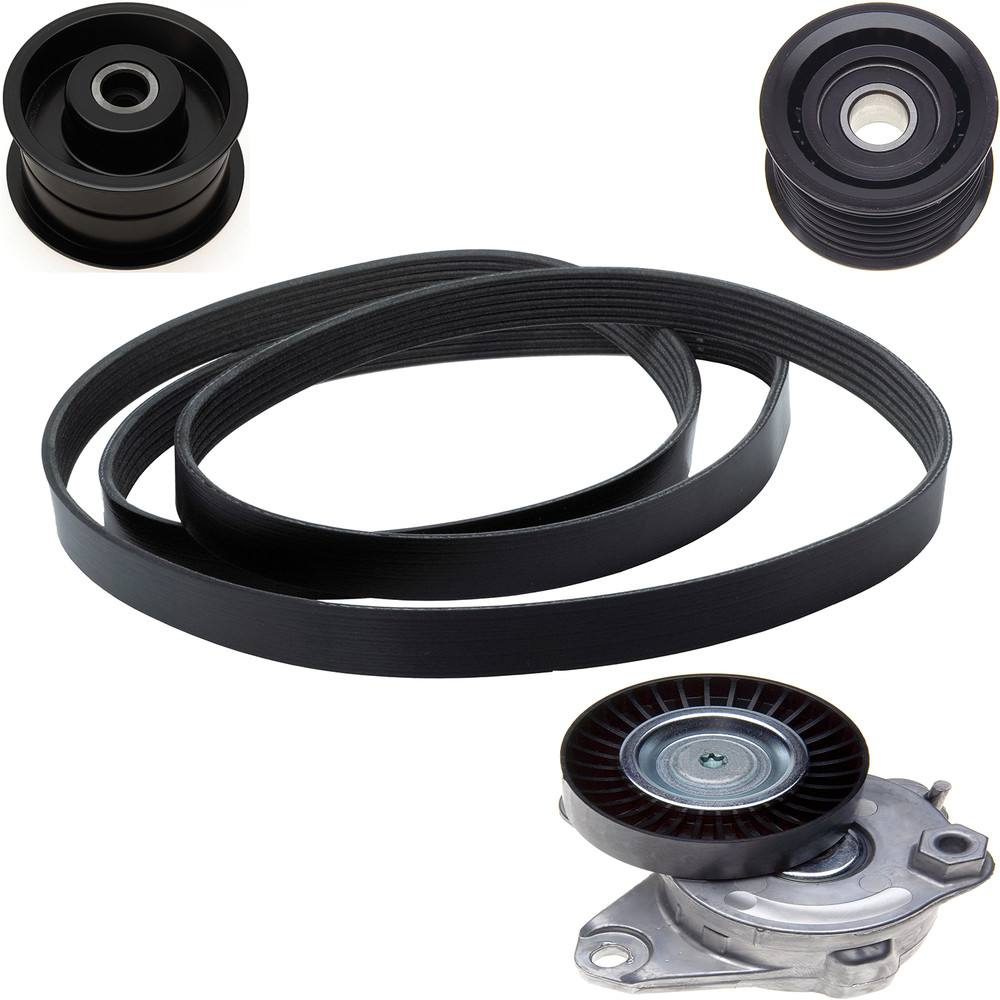 Accessory Belt Drive Kit Fits 2006 2009 Mercedes Benz