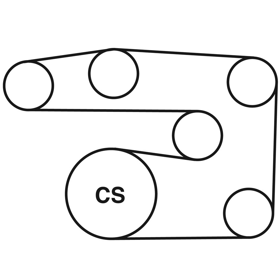 mercedes c230 belt routing diagram from best value auto parts